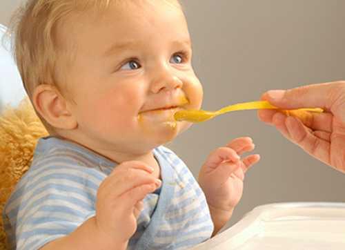 Составляем меню ребенка в 5 месяцев