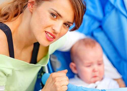 черты прорезывания зубов