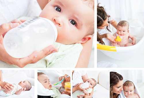 Навыки 4 месячного ребенка
