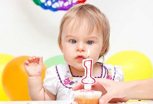 Ребенок в один год