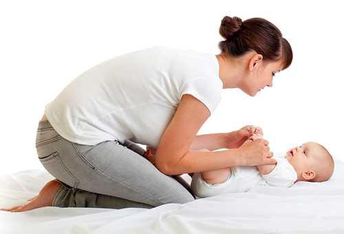 Гимнастика для грудничков