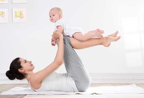 Виды гимнастических процедур для малышей