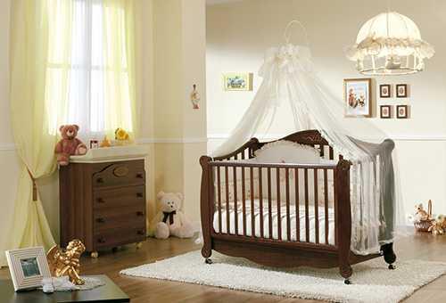 Выбор кроватки для новорожденного малыша