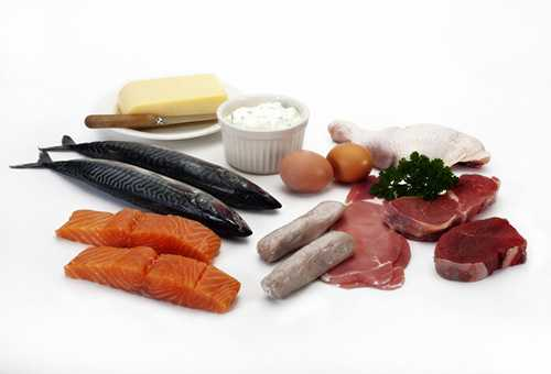 О твороге, мясе и рыбе в рационе