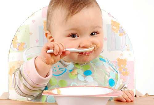 Несколько взглядов на прикорм малыша до года
