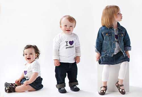 Дети разных возрастов