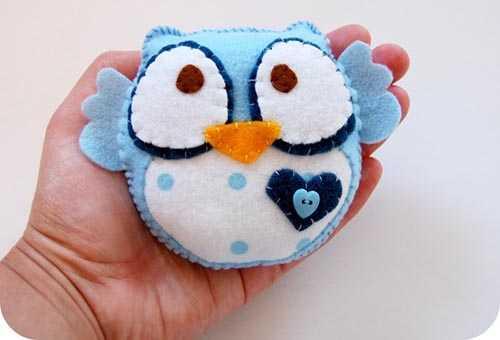 Мягкая игрушка-сова