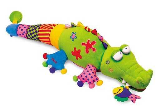 Игрушка в виде крокодильчика