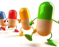 Жизнерадостные капсулы витаминов