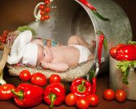 Чем опасен помидор для новорожденного