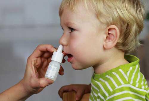 Применение сосудосуживающих препаратов при аденоидах