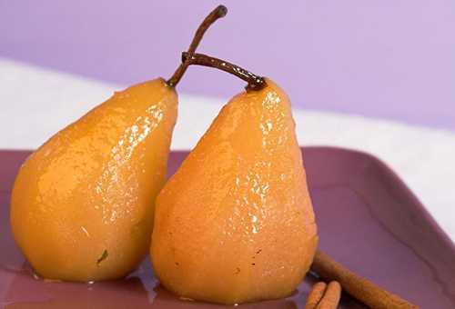 Печеные груши в меню кормящей мамы