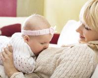 Кормление ребенка грудью