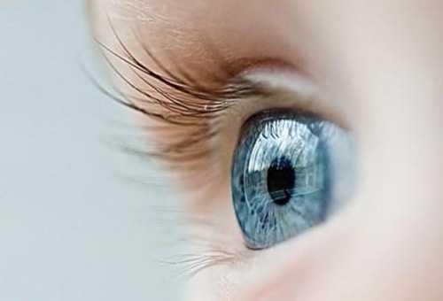 Глаз ребенка