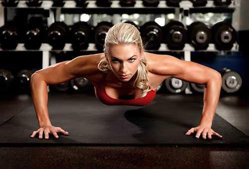 Тяжелые физические упражнения для женщин