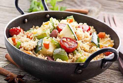 Полезное овощное блюдо