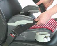 Крепление детского бустера в автомобиле