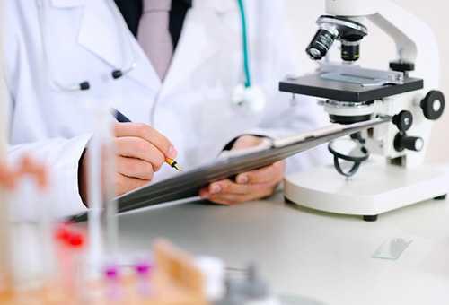 Запись результатов анализа крови на гемоглобин