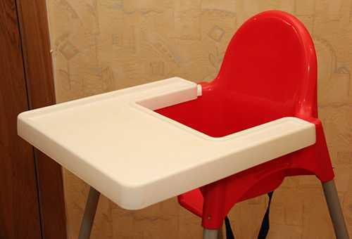 """Детский стул из """"ИКЕА"""" для кормления ребенка"""