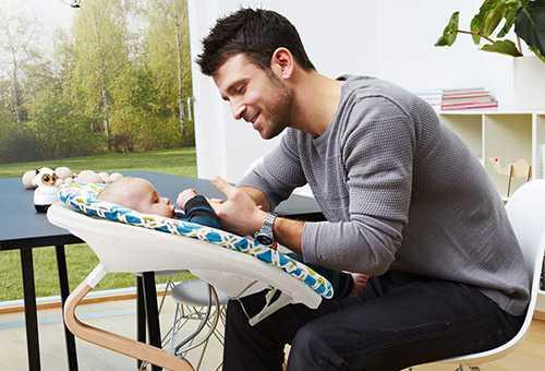 Современные качалки для младенцев