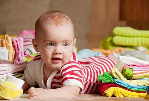 Малыш и его гардероб