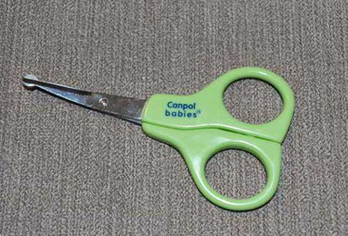 Ножницы Canpol для новорожденных
