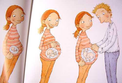 Картинка для детей о том, откуда берутся дети