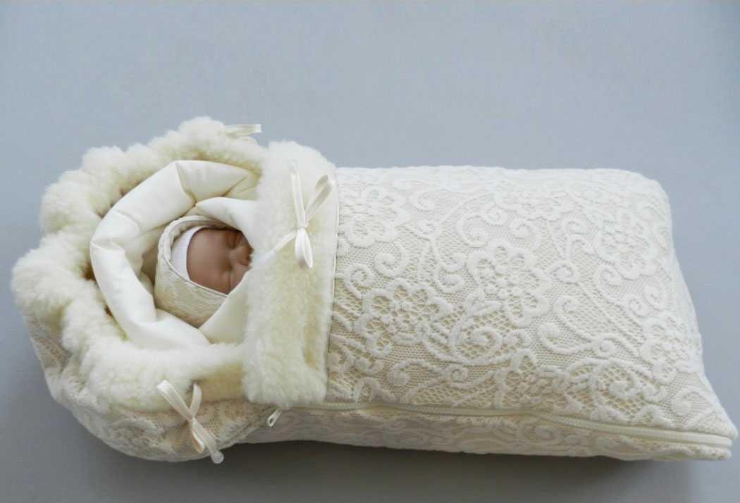 Одежда для выписки новорожденного зимой