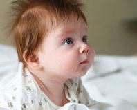 Волосы ребенка в годик