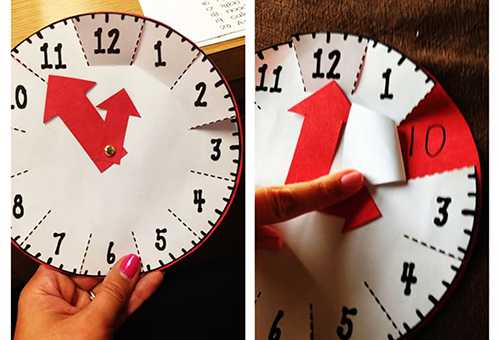 Учим ребенка определять время по часам