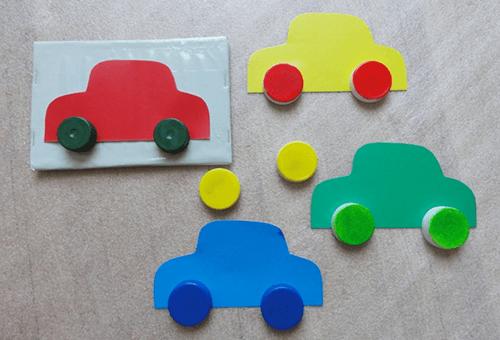 Игрушки для обучения детей цветам