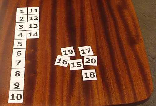 Карточки для обучения ребенка счету