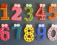Веселые цифры - игрушки