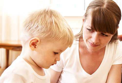 Доверительный разговор с ребенком