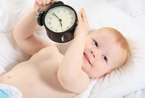 Ребенок с будильником - не хочет спать