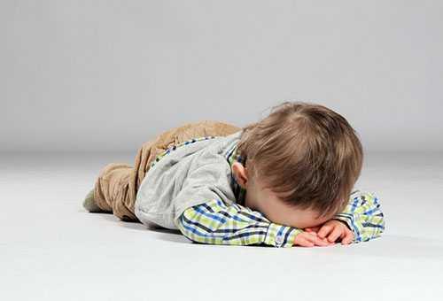 Ребенок потерял сознание