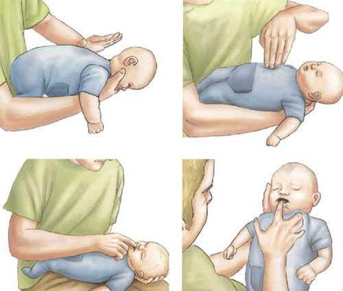 новорожденный как будто задыхается после кормления
