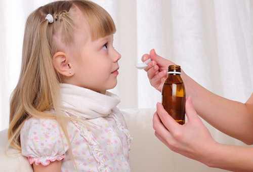 Обезболивающее для детей в виде сиропа