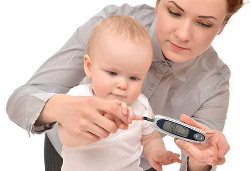 Проверка ребенка на диабет