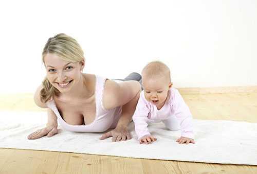 Комплекс упражнений после родов