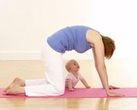 Упражнения для мышц живота после родов