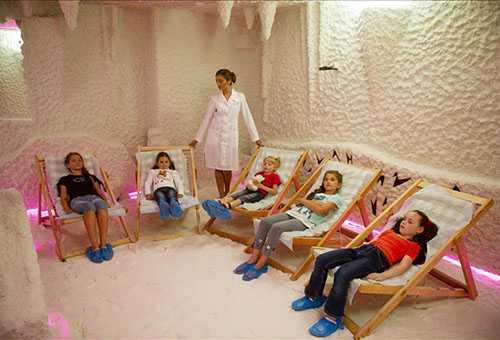 Спелеотерапия для детей