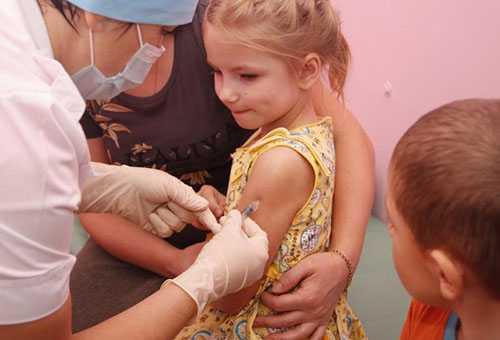 Прививка девочке 7 лет