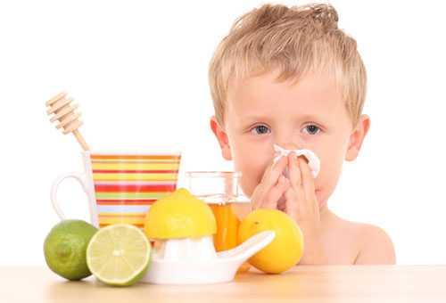 Народные средства от простуды для ребенка