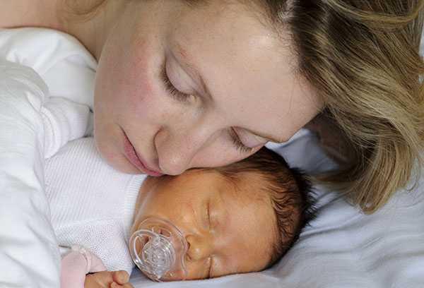 Желтушка у новорожденного