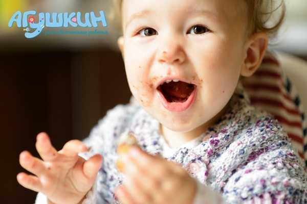 Прикорм ребенка в один год