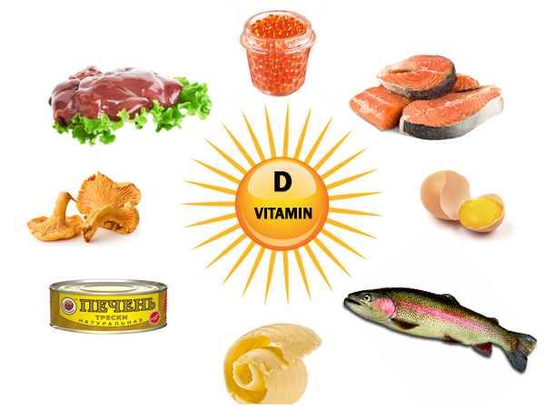У чому є вітамін д