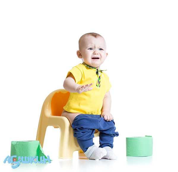 Ребенок не ходит на горшок в 2 года