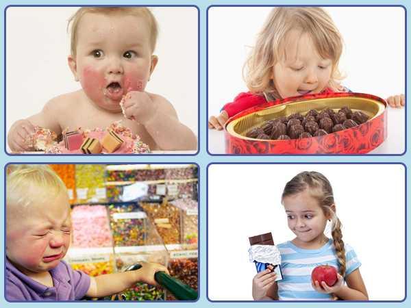 Причины повышенной тяги детей к сладкому