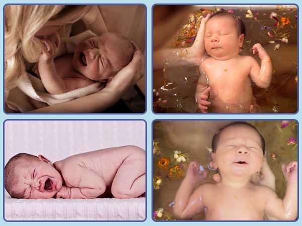 Купание малыша – только ли это гигиеническая процедура?